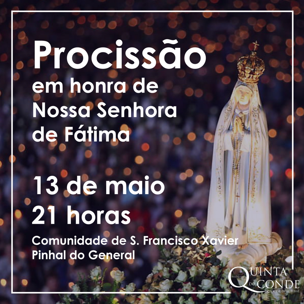 Procissão Nossa Senhora de Fátima-01